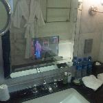 Bathroom TV in Screen