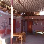 Patio Interior de la hostal