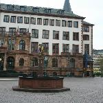 Wiesbaden Town Hall. Ratskeller is on the right side of the hall.