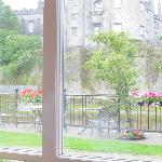 View of Kilkenny Castle from the dining room.
