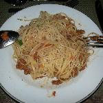spagheti.... look how's pale... not recomend