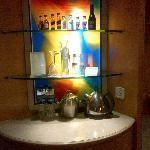 Bar counter in the room