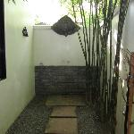 Outdoor shower too!