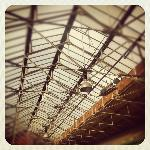 Stunning roof. Former victorian fish market now holds 26 Artist/makers boutique shops.