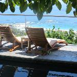 Wonderful poolside loungers ...