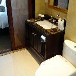 elegant marble toped basin