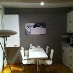Zona comedor y cocina