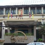 Front of Kacha Resort
