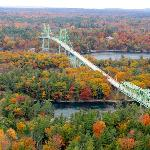 vue sur 1000 Islands-Bridge