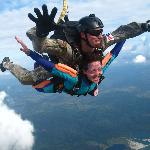 Skydiving with Greg