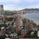 Benidorm from level 27.