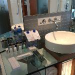 Amenities in the bathroom