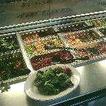 Very healthy lunch bar is great at Local Restaurant, they even have Kale.