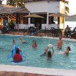 Pool volleyball aka. kids volleyball