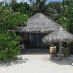 View of Beachfront Bungalow