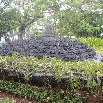 Borobudur temple statue