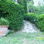 Garden Path to the alcove