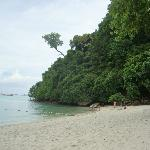 far end of Tonsai Beach