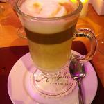 Yummy latte. :)