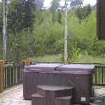 Hot tub on the balcony - Grizzly Heights #50