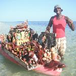 Michael the boat vendor...great guy!