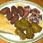 Greek Sampler Platter