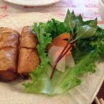 Great way to start a meal! (Spring rolls)