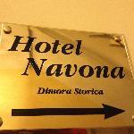 Hotel Navona - historical site