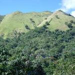 The Central Mountain Range of Puerto Rico. In our property