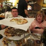 Great Flatbread Pizza.