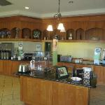 Dining Area for Continental Breakfast