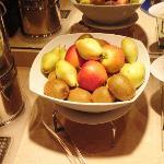 Breakfast - Fresh fruits (poor choice)