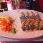 sushi at Tayzan