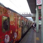 Ping Hsi Branch line train at Ruifang