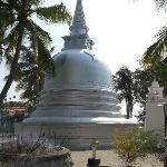 Temple on Nagadeepa Island