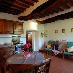 Cucina/soggiorno app.to Le Rose
