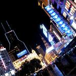 the infamous road that never sleeps, Nanjing Road, aka shopping mecca