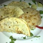 Tacos al pastor con arroz