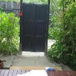 my front door to Villa 46