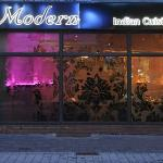 The modern Indian cuisine