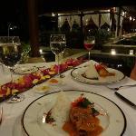 Romantic gala dinner