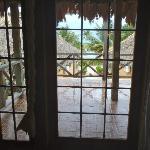 The porch (Raining)