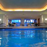 Indoor pool Hilton Paris Charles de Gaulle Airport  Roissy