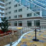 Hilton Paris Charles de Gaulle Airport  Roissy atrium