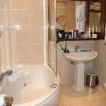 badkamer bij kamer nummer 1