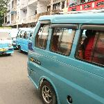 cheap and fast: public transport in Manado