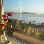 Breakfast view over the bay