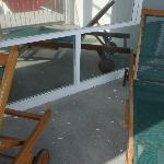 "luxefortwo.eu: Balkon der ""Bayview-Suite"""