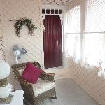Vorraum zwischen Zimmer und Bad