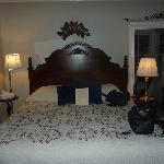 Zimmer Daisy am Abend - tagsüber ist es sehr freunlich und hell